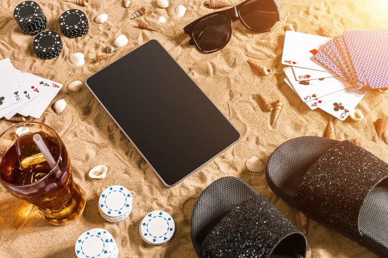 手軽に海辺でオンラインカジノ